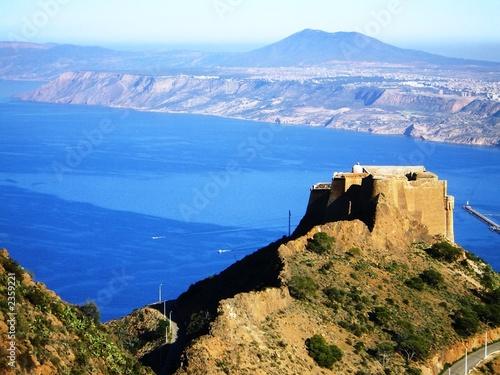 Poster Algerije oran - algérie fort de santa cruz