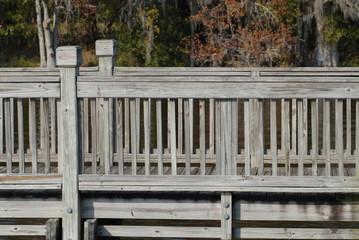 rails at dock