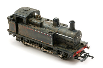 vintage steam shunter engine model