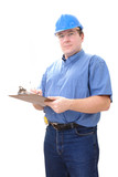 construction site manager poster