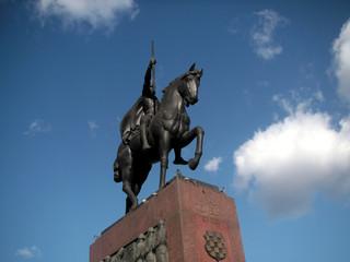 denkmal- kroatischer könig tomislav