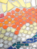 tiled mosaic background poster