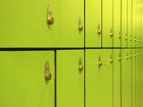 green locker...