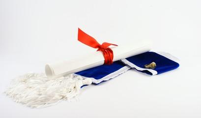 diploma and ring