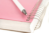 ring binder and pen poster