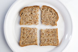 whole wheat bread poster