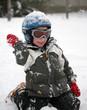 enfant à la neige #3