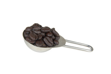 measure of coffee beans