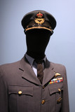 royal canadian air force uniform. poster