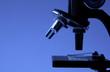 Leinwandbild Motiv mikroskop