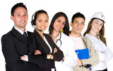 business professionals - job recruitment poster