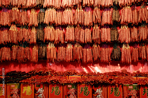 chinese wax dried sausage