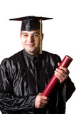 happy graduation a young man poster