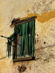 janela de alfândega da fé