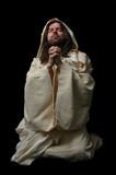 jesus in prayer_full body poster