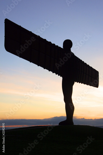 Leinwanddruck Bild angel of the north
