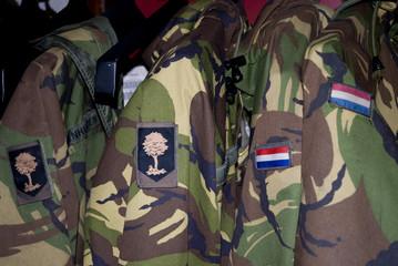 uniform from dutch army