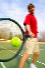 racket hit