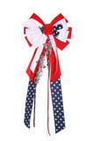 4th of july ribbon poster