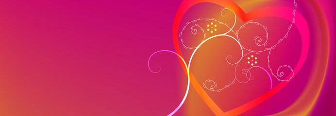 valentine pink