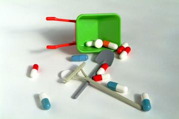 ne pas laisser les médicaments à la portée des enf