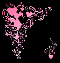 heart of love. corner