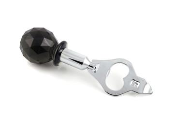 black bottle opener