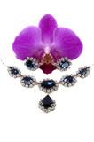 diamond-sapphire set poster