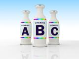 vitamine a b c poster