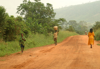 dusty lane ghana