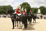 royal cavalry on parade poster