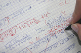 correcting maths poster