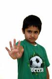 stop gesture poster