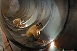 svařování švů oceli kapacity