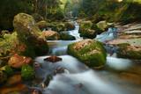 Fototapety rock waterfall