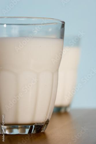 Leinwandbild Motiv glass of milk