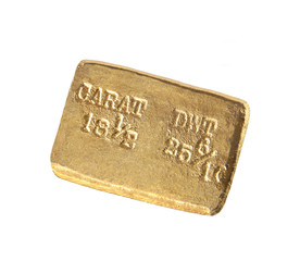 us gold ingot, circa 1860