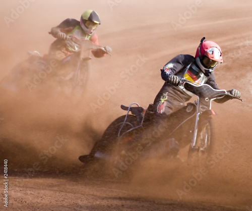 Zdjęcia na płótnie, fototapety, obrazy : speedway rennen