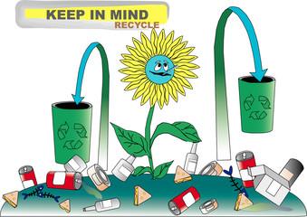 recylce illustration