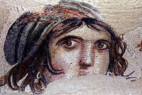 zeugma mosaics, turkey - 2419631