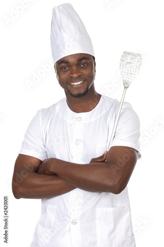 attractive cook african