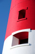 main red and white lighthouse on portland near wey