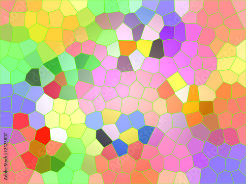 colorfully mosaic