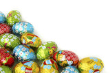 Fototapety easter eggs  background
