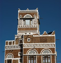 tradional house from yemen