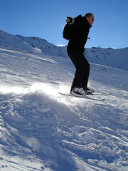 photo saut à skis