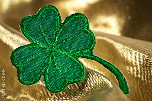 four leaf clover and shine of gold t-shirt