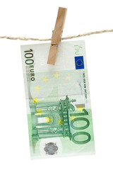 drying one hundred euro