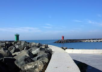 port of rome (ostia)-italy