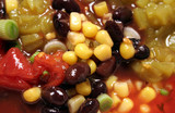 spicy black bean soup poster